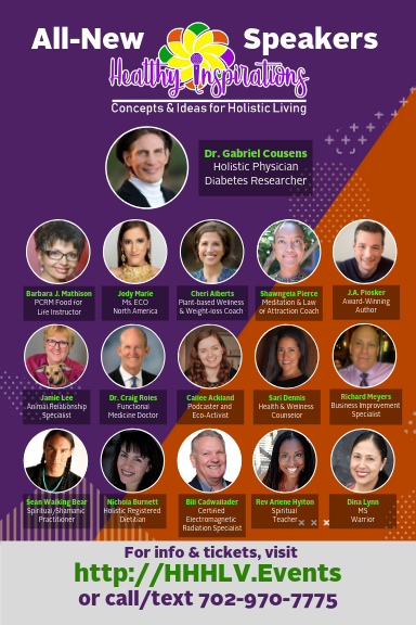 HHH2019 Healthy Inspirations Speakers