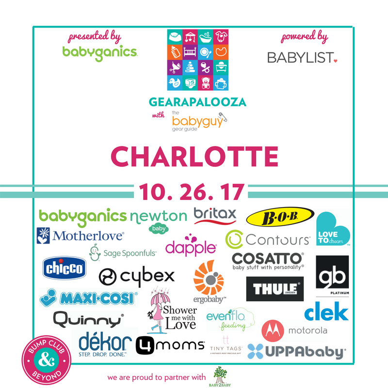 The Ultimate Baby Gear And Registry Event With Bump Club And Beyond And Thebabyguynyc Is Coming To Charlotte Join Us For An Evening Filled With