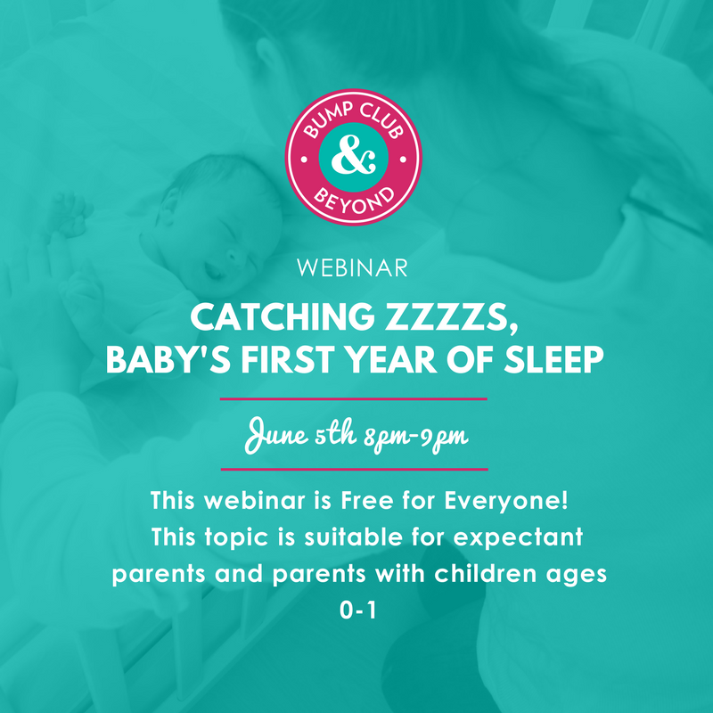Webinar: Catching Zzzzz's: Baby's First Year of Sleep