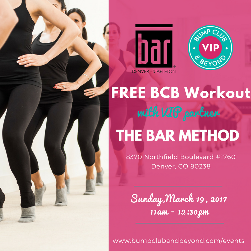 Bar Method Denver Workout