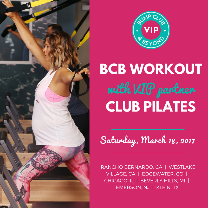 BCB & Club Pilates Workout