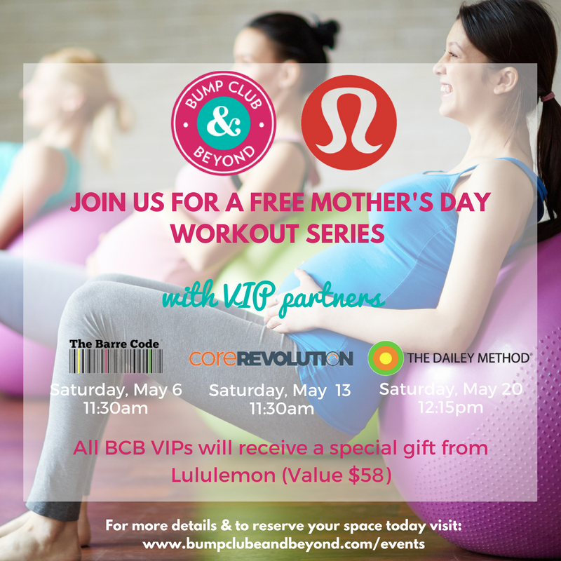 Mother's Day Workout Series