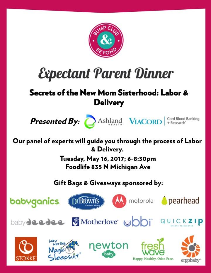 BCBumps Expectant Parent Dinner Labor & Delivery