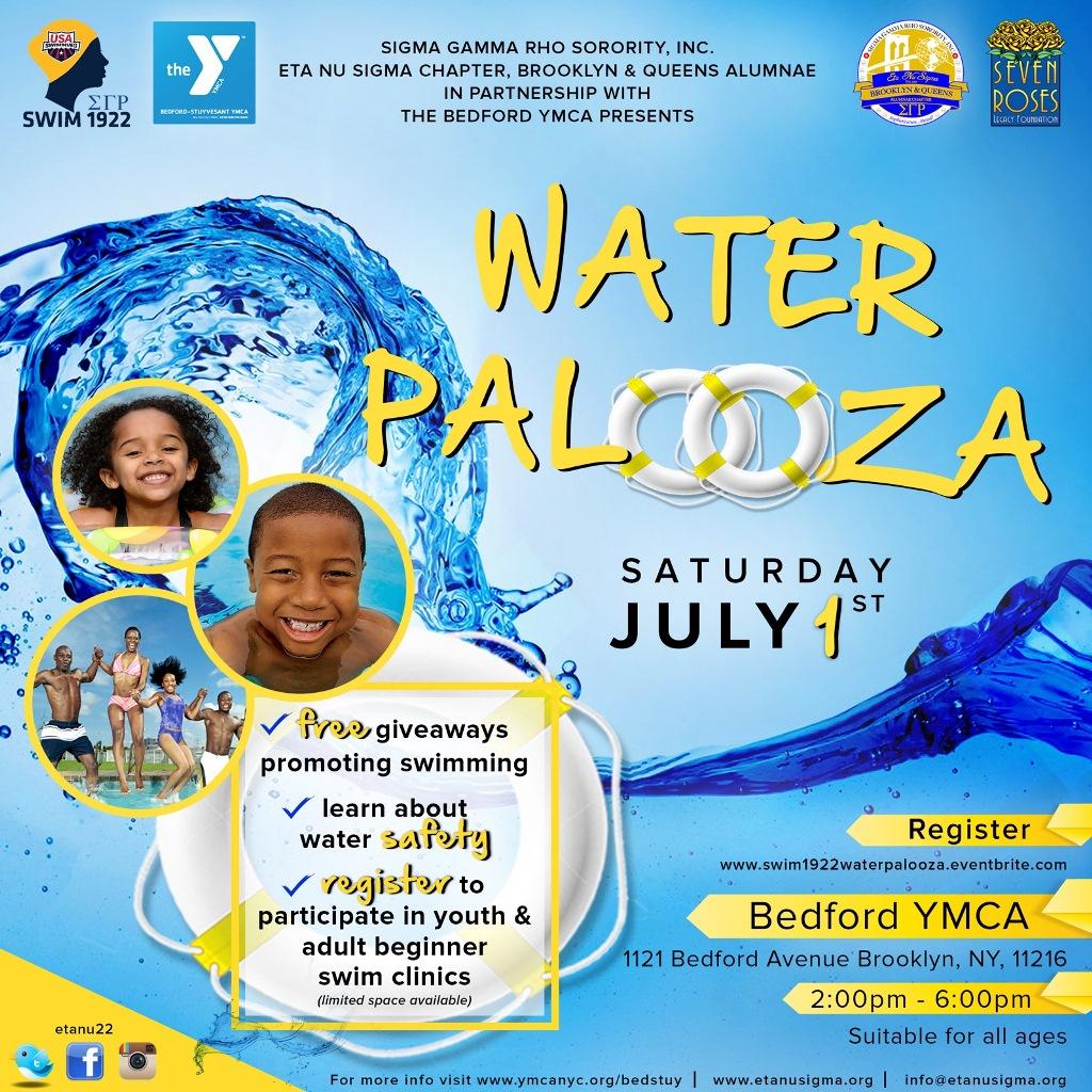 Water Palooza Flyer