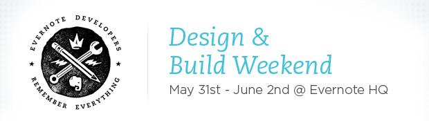 Design & Build Weekend