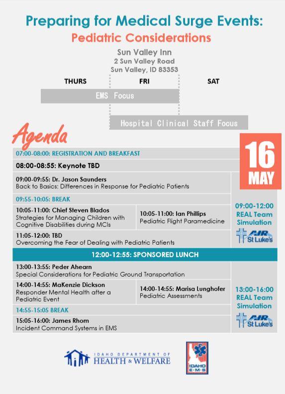 Agenda 1 Medical Surge Events