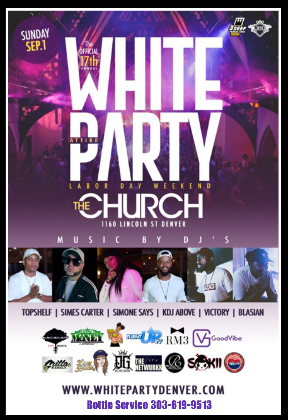 WHITEPARTY PROMOTERS DJS