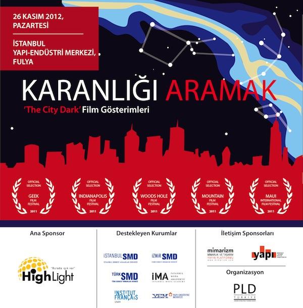 Karanlığı Aramak - The City Dark Film Gösterimleri - İstanbul 2