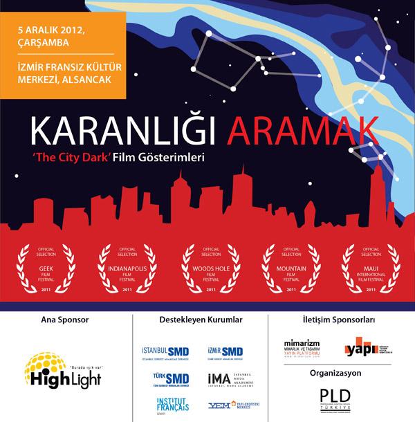 City Dark Film Gösterimi - İzmir