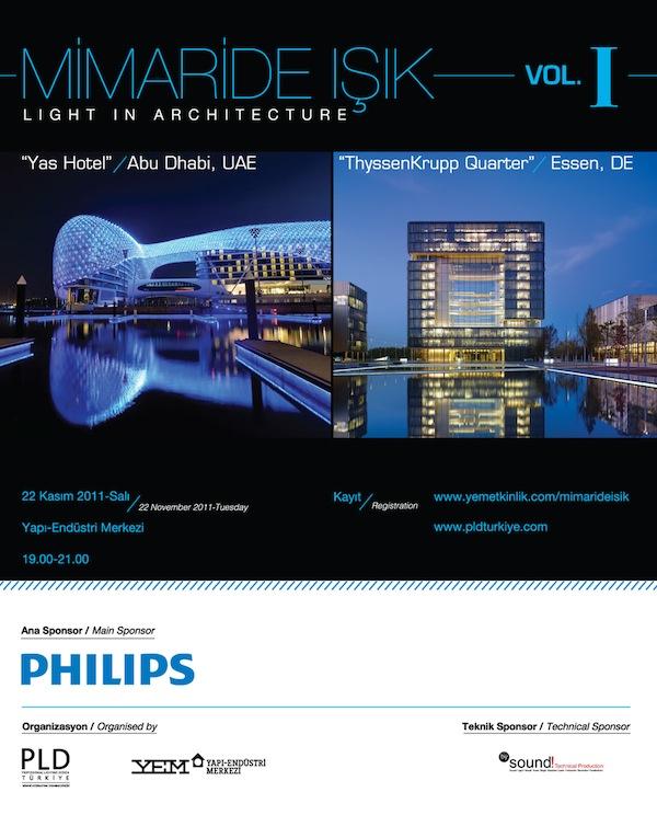 Mimaride Işık - Vol 1 Afişi