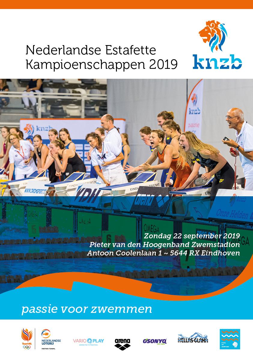 Poster Nederlandse Estafette Kampioenschappen
