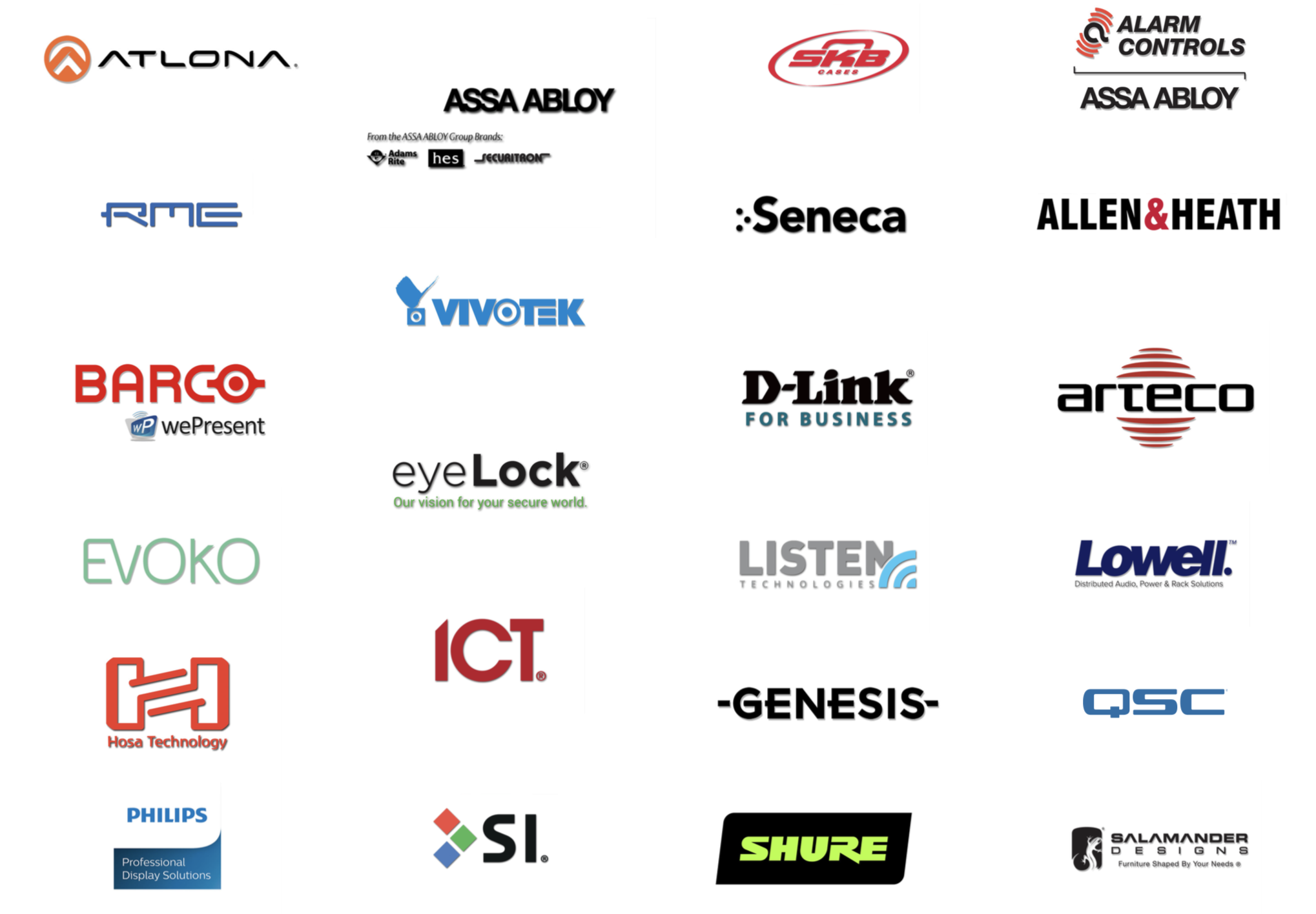 Expect to see all of these manufacturers featured at CoreX!