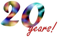 20 years clip art