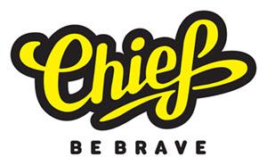 CHIEF Logo: Be Brave