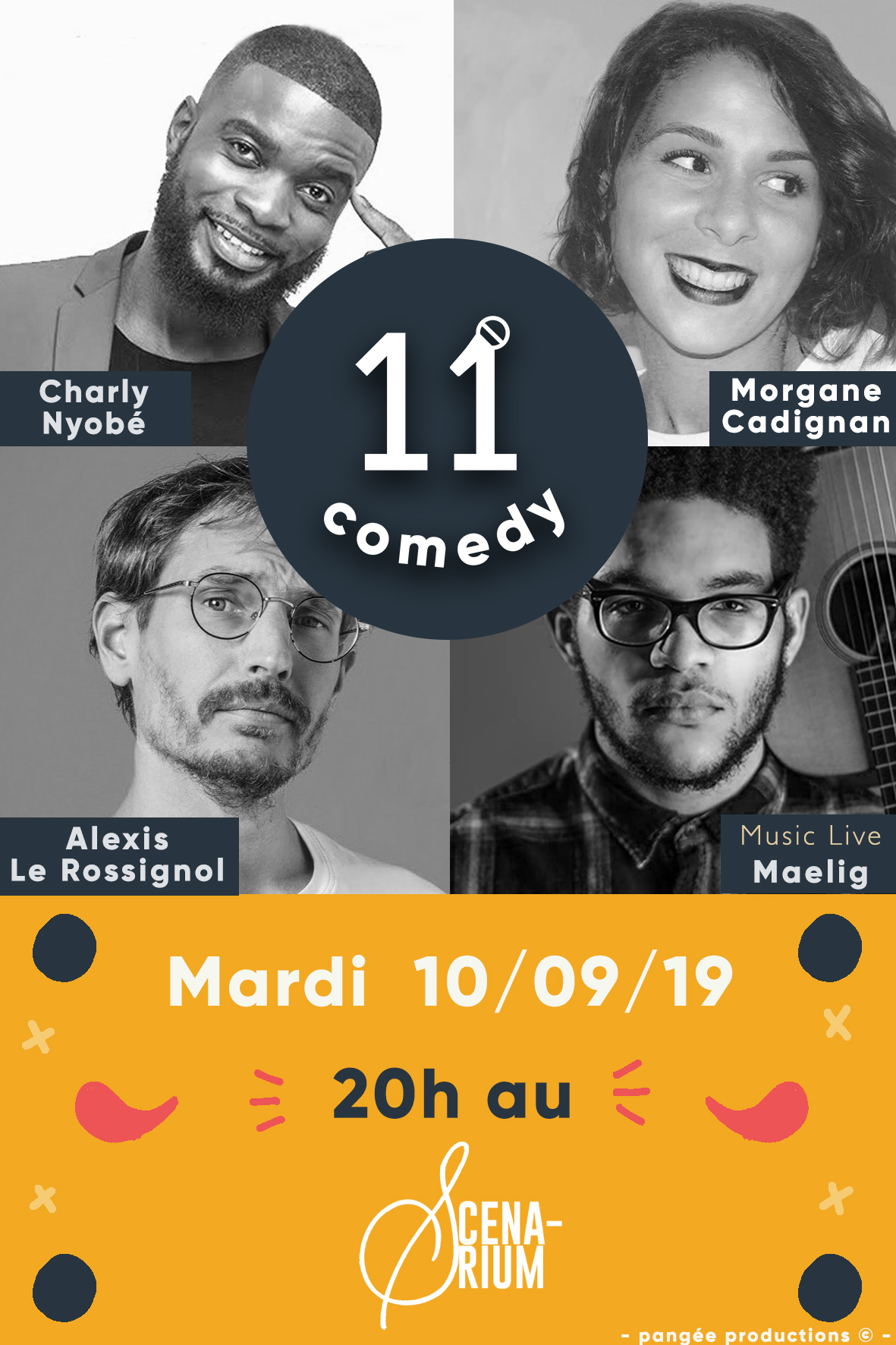 LINE UP ELEVEN COMEDY 1009