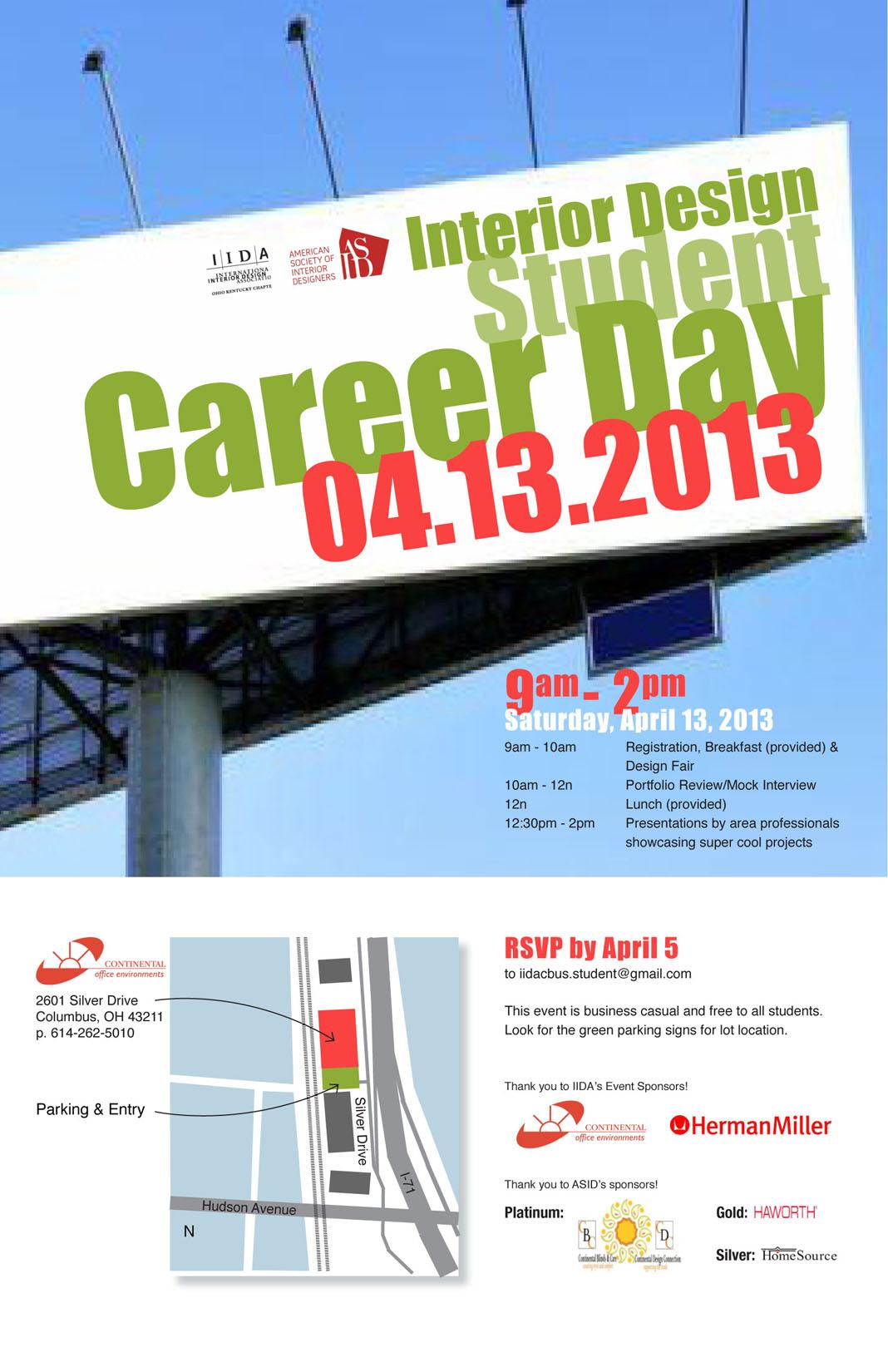 Interior Design Student Career Day 2013 Registration Sat Apr 13 2013 At 9 00 Am Eventbrite