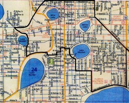 Downtown Boundaries Map