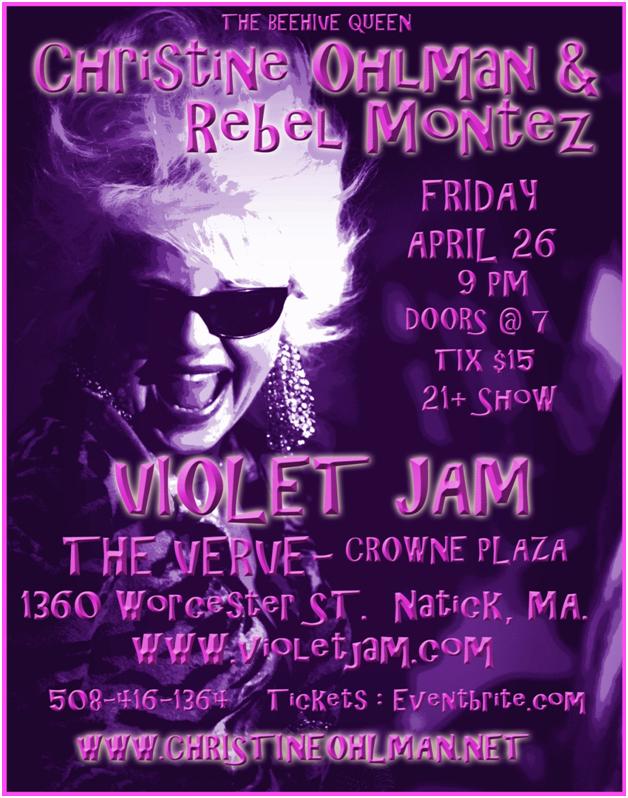 Violet Jam Flyer