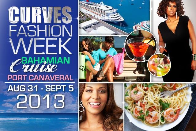 CURVES Fashion Week at Sea flier