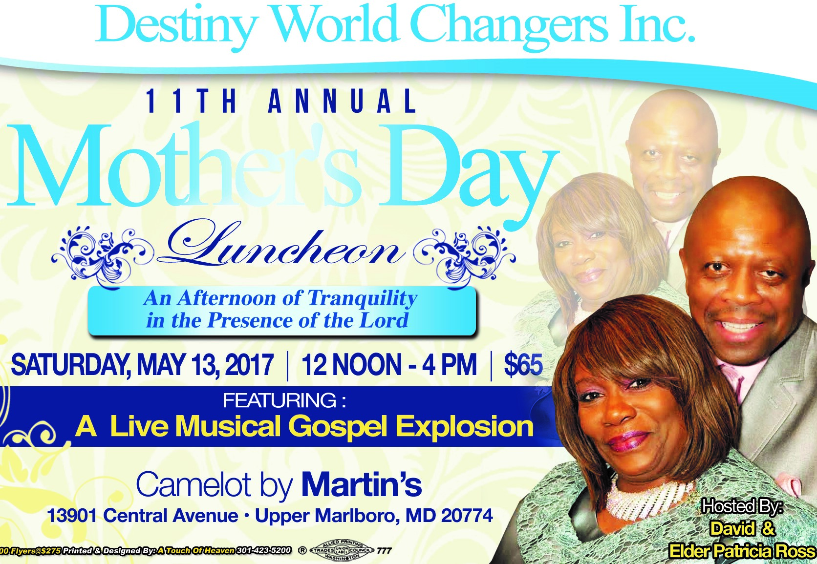 DWC 11th Annual Mother's Day Luncheon