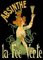 Vintage French Absinthe Poster