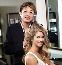 Nelson Chan at the Nelson j Salon in Beverly Hills