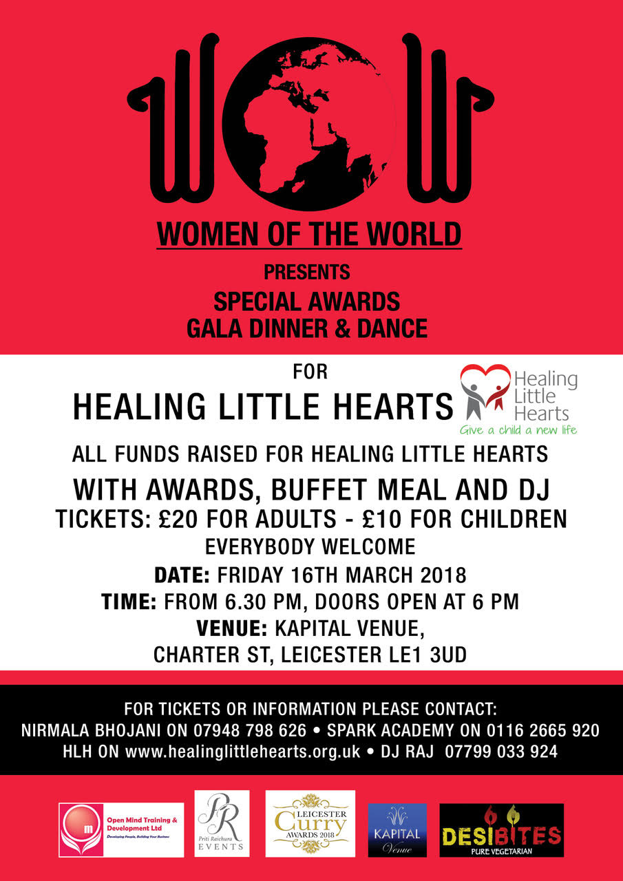 WOW Awards 2018 Flyer
