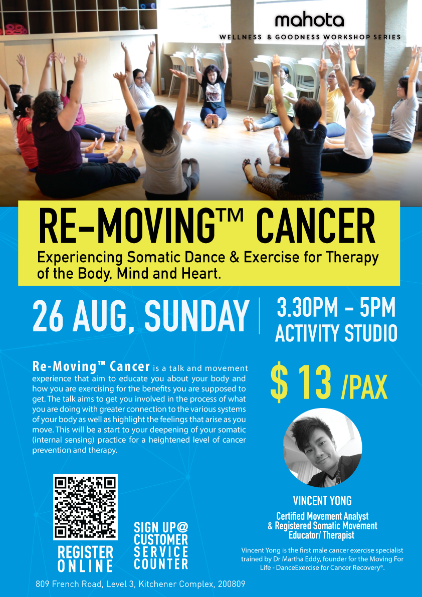 Re-Moving Cancer Tickets, Sun, Aug 26, 2018 at 3:30 PM | Eventbrite