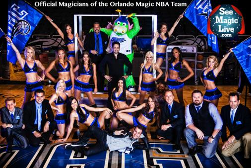 Official Magicians of the Orlando Magic NBA Team