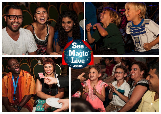 Adults and Kids love this Magic Show.