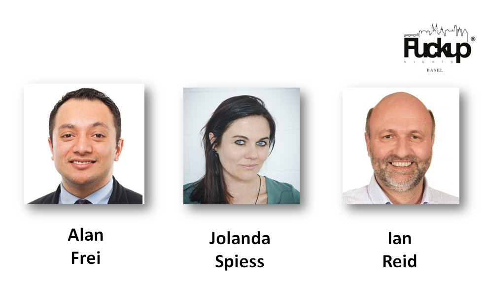 Alan Frei, Jolanda Spiess-Hegglin and Ian Reid