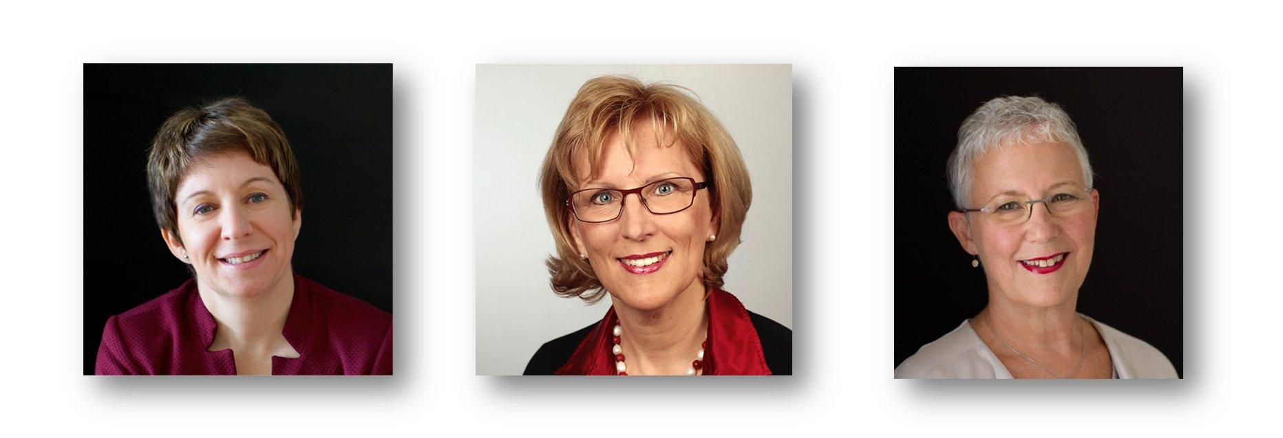 Sandra van de Cauter - Sabine Schmelzer - Kathy Hartmann-Campbell