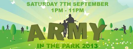 ARMY IN THE PARK 2013