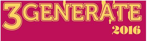 3Generate 2016 logo