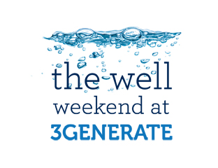 The Well Weekend at 3Generate logo