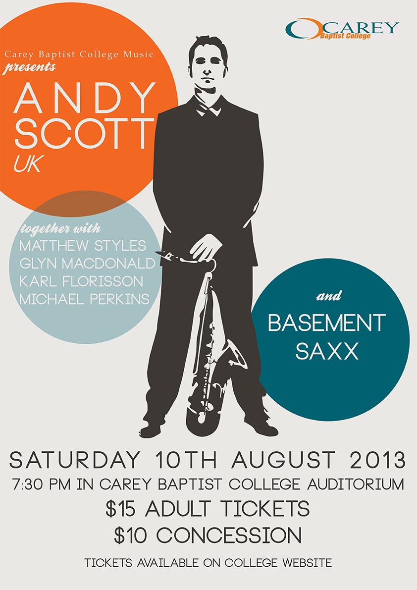 Andy Scott & Basement Saxx