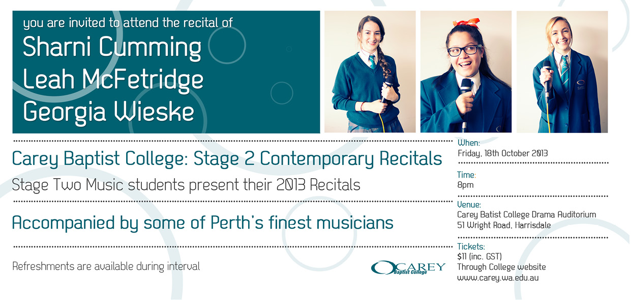 Stage Two Contemporary Recitals