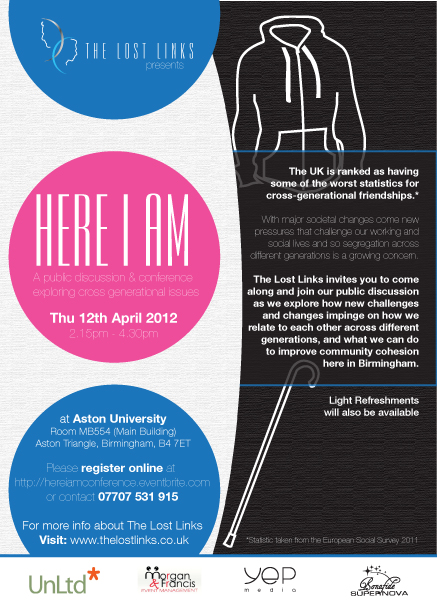 Here I Am Conference Poster