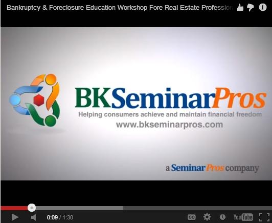 Bankruptcy Education Workshops For Realtors