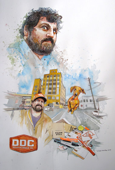 Aaron Draplin, Guest Judge & Speaker at Brand Lab KC