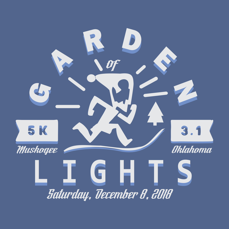 Garden Of Lights Run 18 Muskogee Ok Running