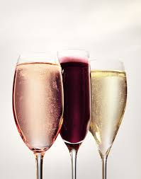 Three Sparkling Wines