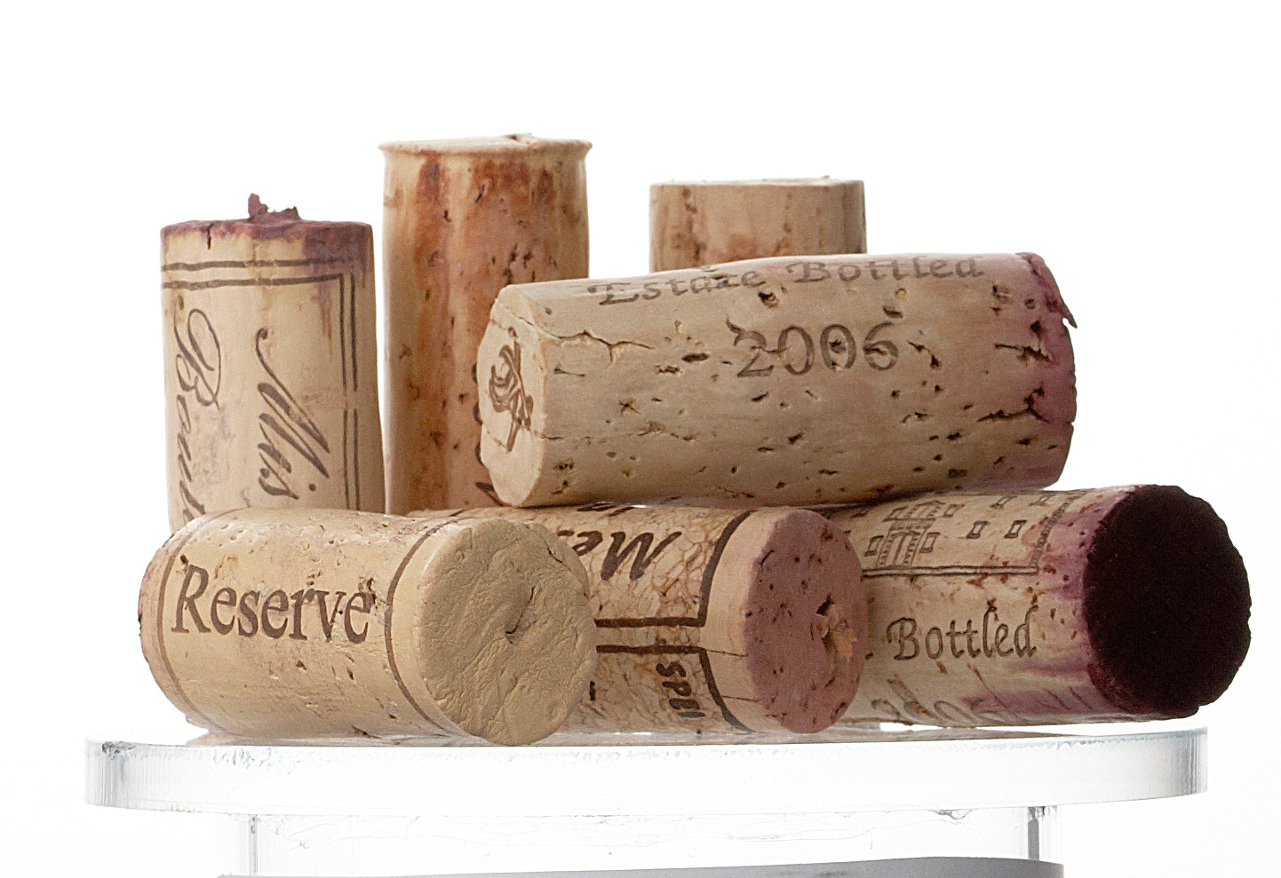 Horizontal wine bottle banner