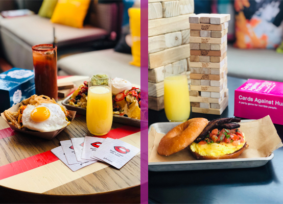 Moxy Chicago Downtown Brunch