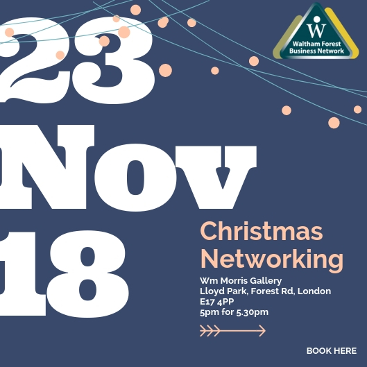 Waltham Forest Business Christmas Networking 2018