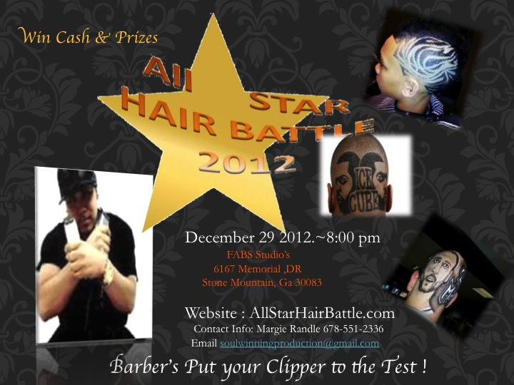All Star Barber Flyer