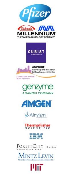 Catalyst 2013 Sponsors: Pfizer, Millennium, Cubist, Microsoft, Genzyme, Amgen, Alnylam, Thermo Fisher, Forest City, MIT