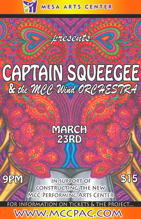 Captain Squeegee at the MAC 3/23