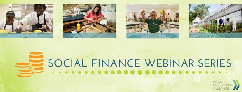 Social Finance Webinar Series