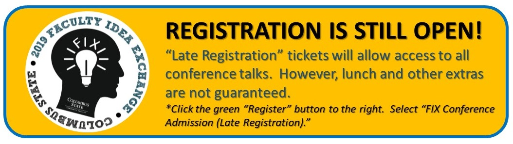 Late Registration is still available